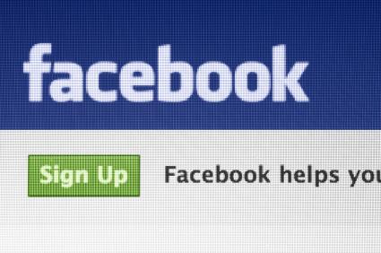 inscrição no facebook