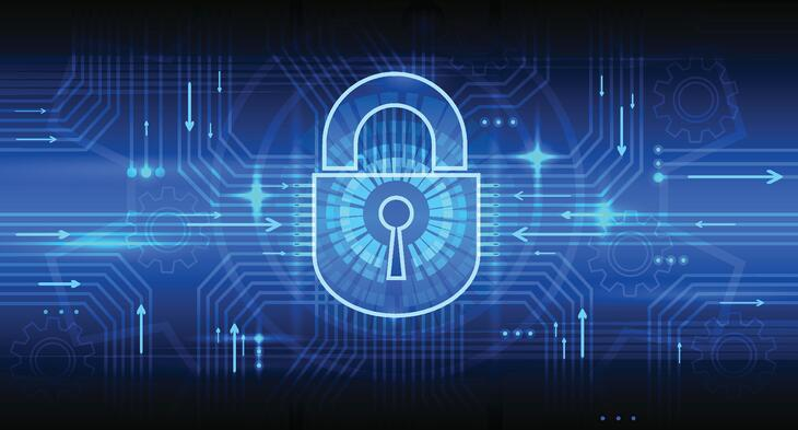 Digital information security concept with lock.jpg