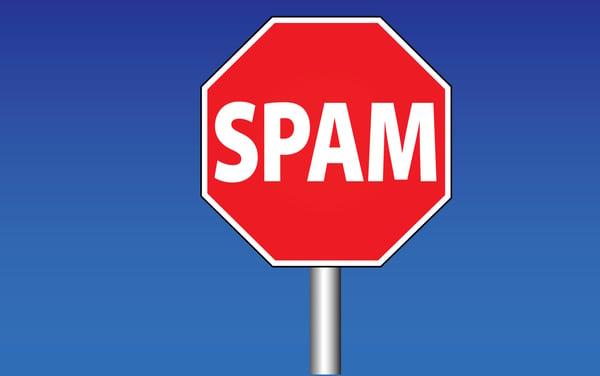 placa pare spam