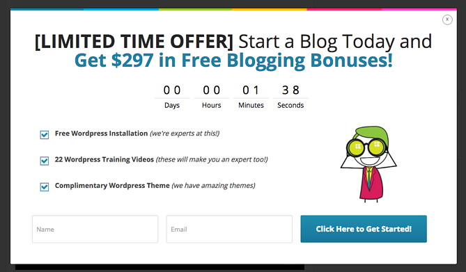 Exemplo do blogging.org