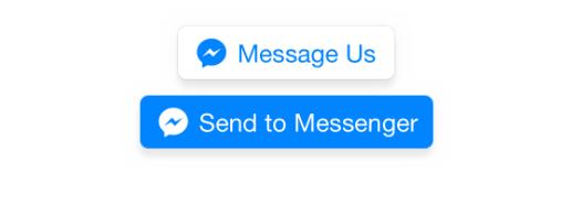 Botões de CTA do bot do Facebook Messenger