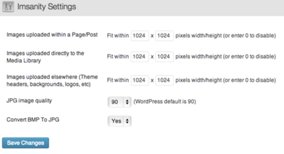 imsanity wordpress plugin