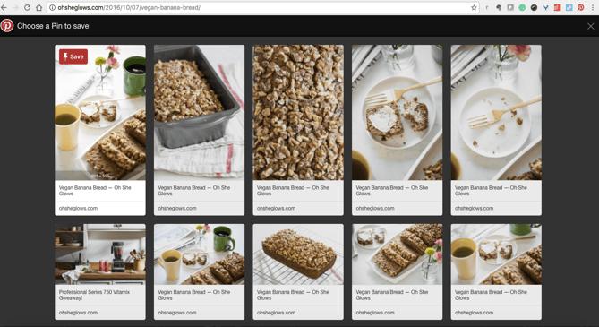 Extensão do Pinterest para o Chrome
