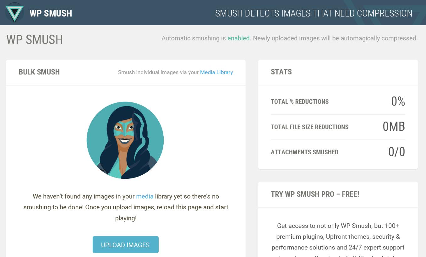 smush wordpress plugin