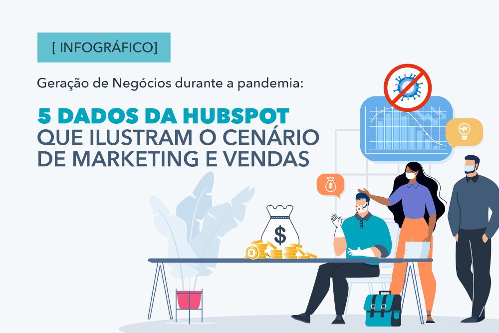 Geração de Negócios durante a pandemia: 5 dados da HubSpot que ilustram o cenário de marketing e vendas